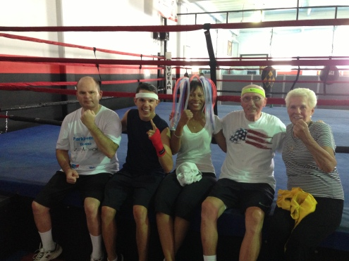 Boxers, Coach, and Nancy