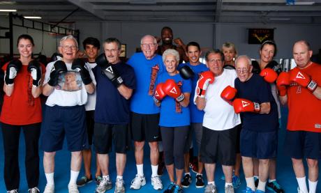 Rock Steady Boxing SC Southern California Anne Adams Parkinson's