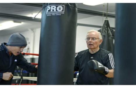 Dan Cathcart Rock Steady Boxing Southern California