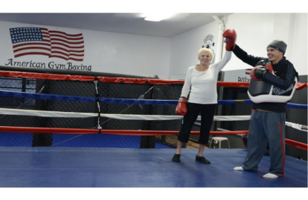 Dee Nouhan Rock Steady Boxing Southern California