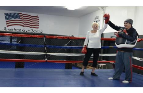 Dee Nouhan Rock Steady Boxing Southern California